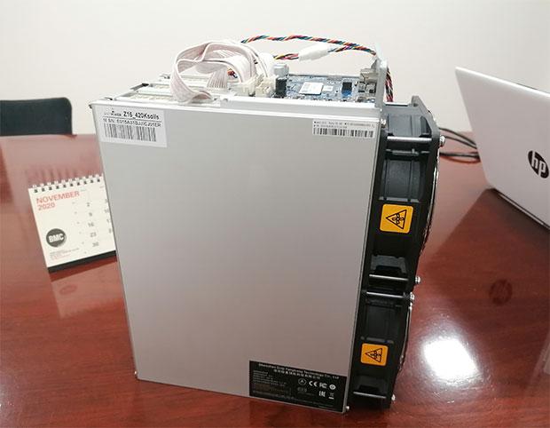 Dispositivo de minería criptomonedas Asic Z15