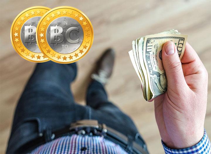 Cuantos Bitcoin BTC puedo comprar en efectivo